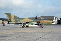 8201 @ ETAD - Hungarian MiG21MF visiting Spangdahlem AB (KM25 Slidescan) - by FBE