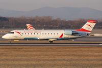 OE-LCF @ VIE - Austrian arrows Canadair Regional Jet CRJ200LR - by Joker767