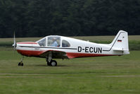 D-ECUN @ EBDT - departure after the old-timer fly-in. - by Joop de Groot