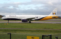 G-OZBM @ EGCC - seen @ Manchester - by castle