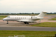 G-UYGB @ EGCC - seen @ Manchester - by castle