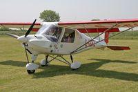 G-CCFZ @ FISHBURN - Ikarus C42 FB UK at Fishburn Airfield, UK in 2006. - by Malcolm Clarke