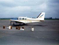 G-AYSA @ EGMC - Piper PA-23-250 Aztec Southend 1975 - by GeoffW