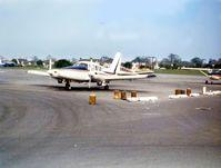 G-BBLP @ EGMC - PA-23-250 Aztec Southend 1975 - by GeoffW
