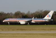 N177AN @ EGCC - American Airlines wingletted B757 at Manchester UK