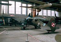 8-63 - Panstwowe Zaklady Lotnicze (PZL) P.11C at the Muzeum Lotnictwa i Astronautyki, Krakow - by Ingo Warnecke