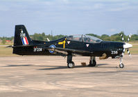 ZF238 - Elvington Air Show 2003. Royal Air Force Tucano from 1 FTS. - by vickersfour
