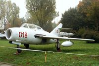 018 - WSK SBLiM-2 (MiG-15UTI) MIDGET of the polish naval aviation at the Muzeum Lotnictwa i Astronautyki, Krakow - by Ingo Warnecke