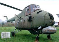 617 - Mil Mi-4ME Hound ASW-helicopter of the polish naval aviation at the Muzeum Lotnictwa i Astronautyki, Krakow