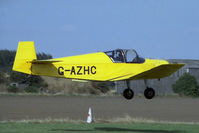G-AZHC @ EGBR - Jodel D-112 at Breighton Airfield, UK in 1998. - by Malcolm Clarke