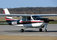 N8011G @ TVR - At the Tallulah/Vicksburg airport. This is a really nice looking Cardinal! - by paulp
