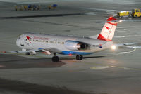 OE-LVE @ VIE - Austrian arrows Fokker 100 - by Chris J