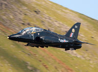 XX313 - Royal Air Force Hawk T1W (c/n 312138) operated by 19 (R) Squadron. Taken at Dunmail Raise, Cumbria. - by vickersfour