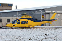 G-MEDX @ EGNX - Air Ambulance based at East Midlands