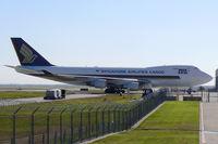 9V-SFJ @ DFW - Singapore Airlines Cargo