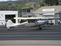 N1748D @ SZP - 1951 Cessna 170A, Continental C145 145 Hp, taxi - by Doug Robertson
