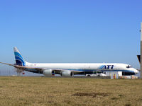 N820BX @ DFW - ATI Freighter at DFW