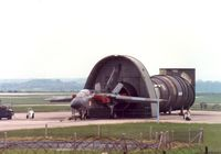 MM55002 @ COTTESMORE - Tornado IDS of the Italian component of the Tri-National Tornado Training Establishment at RAF Cottesmore in May 1991. - by Peter Nicholson
