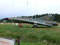 35998 @ ESGP - SAAB SKJ35J Draken 35998/18/FC Swedish Air Force - by Alex Smit