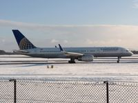 N13110 @ EGCC - Taxing out in very bad snow at Manchester - by David W