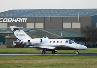 D-IHEB @ EGHH - CESSNA CITATION @ EGHH - by Uzzy