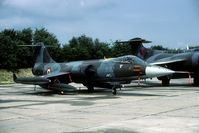 MM6913 @ EHLW - Italian Starfighter on the static of the 1990 open house held at Leeuwarden AB. - by Joop de Groot