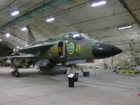 37911 @ ESGP - SAAB SKAJSH37 Viggen 37911/21/55 Swedish Air Force - by Alex Smit
