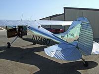 N1748D - 1951 Cessna 170A - by Bruce Davids