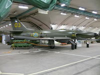 32512 @ ESGP - SAAB SKJ32E Lansen 32512/3/03 Swedish Air Force - by Alex Smit