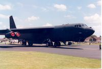 58-0203 @ MHZ - Another view of High 'n Mighty of the 366th Wing on display at the 1993 Mildenhall Air Fete. - by Peter Nicholson
