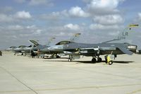 86-0256 @ KLUF - AFRes flightline scene at Luke AFB - by Friedrich Becker