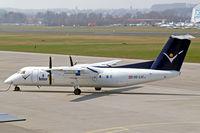 OE-LIC @ EDNY - DHC-8Q-314 Dash 8 [503] (Intersky) Friedrichshafen~D 03/04/2009. Being prepared for departure.