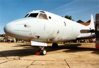 158568 @ MHZ - P-3C Orion of Patrol Squadron VP-49 on display at the 1993 Mildenhall Air Fete. - by Peter Nicholson
