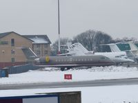 D-AANN @ EGGW - At a very snowy Luton - by AndyParsons