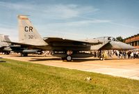 77-0132 @ MHZ - F-15A Eagle from Soesterberg AB on display at the 1993 Mildenhall Air Fete. - by Peter Nicholson