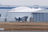 BF-2 @ NFW - The second F-35B VTOL prototype departing NFW for a ferry flight to Pax River. - by Zane Adams