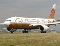 A4O-KF @ LFPG - Gulf Air. Special scheme. - by vickersfour