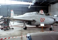 02 - Yakovlev Yak-17UTI (Yak-17W) of the polish air force at the Muzeum Lotnictwa i Astronautyki, Krakow - by Ingo Warnecke