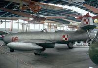 16 - Yakovlev Yak-23 FLORA of the polish air force at the Muzeum Lotnictwa i Astronautyki, Krakow - by Ingo Warnecke