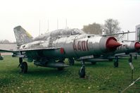 4401 - Mikoyan i Gurevich MiG-21US of the polish air force at the Muzeum Lotnictwa i Astronautyki, Krakow - by Ingo Warnecke
