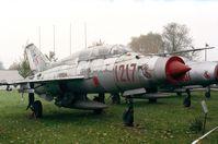 1217 - Mikoyan i Gurevich MiG-21U MONGOL of the polish air force at the Muzeum Lotnictwa i Astronautyki, Krakow