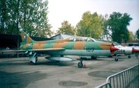 1017 - Sukhoi Su-7U Moujik of the czechoslovak air force at the Letecke Muzeum, Prague-Kbely - by Ingo Warnecke