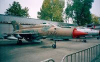 7705 - Mikoyan i Gurevich MiG-21MF Fishbed-J of the czechoslovak air force at the Letecke Muzeum, Prague-Kbely - by Ingo Warnecke