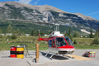 C-GALX @ CEW9 - Alpine Helicopter's Homebase in Canmore - by Tomas Milosch