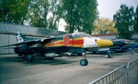 9825 - Mikoyan i Gurevich MiG-23BN Flogger of the czechoslovak air force at the Letecke Muzeum, Prague-Kbely - by Ingo Warnecke