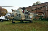 0313 - Mil Mi-8T Hip of the czechoslovak air force at the Letecke Muzeum, Prague-Kbely - by Ingo Warnecke