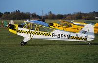 G-BPYN @ EGLM - Piper Cub - by moxy
