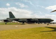 61-0022 @ MHZ - B-52H Stratofortress, callsign Scalp 93, of 93rd Bomb Squadron/917th Wing on display at the 1995 Mildenhall Air Fete. - by Peter Nicholson