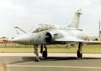 512 @ MHZ - Mirage 2000B of EC 01.002 French Air Force on the flight-line at the 1995 Mildenhall Air Fete. - by Peter Nicholson