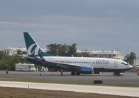 N126AT @ KEYW - Boeing 737-700 - by Mark Pasqualino
